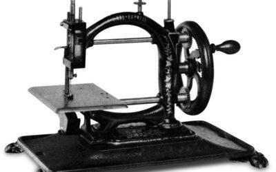 Rozwój maszyny do szycia w Europie